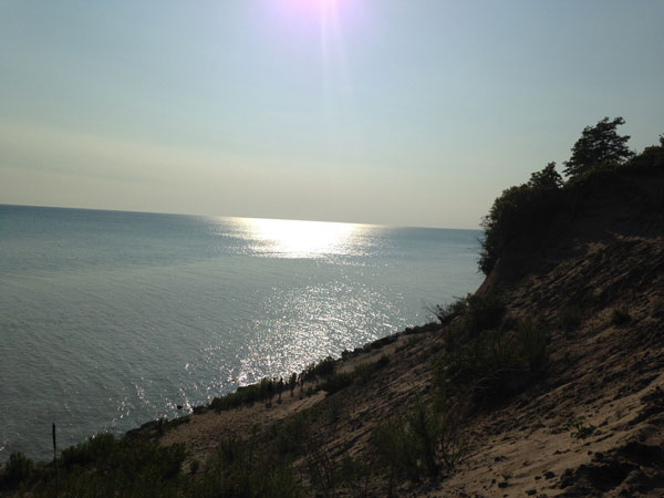 Sand Hill Park Lake Erie Sun
